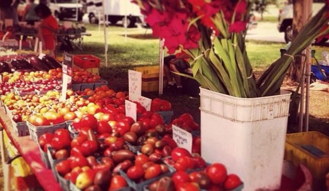 Farmers Market…