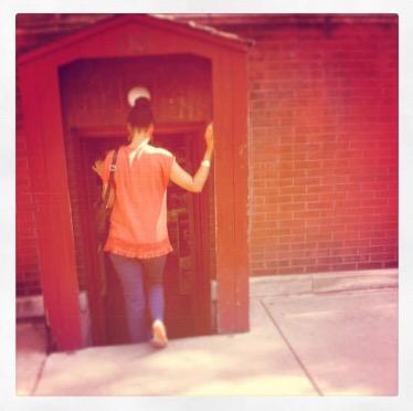 Doors will open…